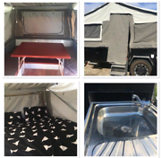 Off Road Hard Floor Forward Folding Camper Trailer For Hire Lewiston Mallala Area Preview