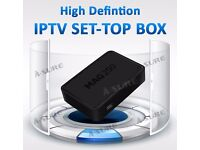 *GET HD NOW*MAG HD IPTV BOX BETTER THAN SAT BOXES-NO DISH NEEDED+12 MTHS-SMART TV/MAG/VLC/OPENBOX
