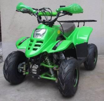 NEW 110cc ATV QUAD Big Wheel 7inch not 50cc with remote warranty