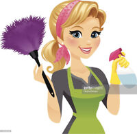 Cleaning lady ; honest and reliable