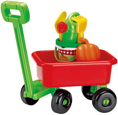 Ecoiffier Handwagen mit Sandspielzeug