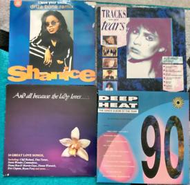 16 x Various Vinyl Record Singles Albums 1990s