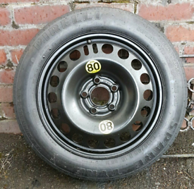 Space saver spare tyre