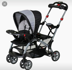Poussette double sit and stand double stroller Babytrend
