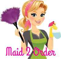 "MAID 2 ORDER - ""MAKING HOME LIFE MORE MANAGEABLE"""