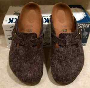 Birkenstock Boston Clogs - NEW, NEVER USED - Size 36