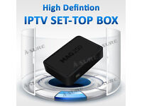 **MAG IPTV HD**-BEATS ANY SAT BOX ADVERTISED - HD CHANNELS SPORTS/MOVIES UNLIKE OPENBOXES AND OTHERS