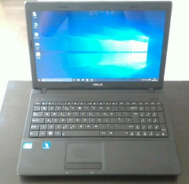 Core i3 laptop with SSD hard drive win 10