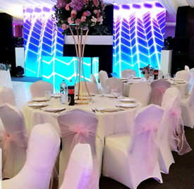 CHAIR COVER HIRE & EVENT EQUIPMENT FURNITURE ALSO MAN AND VAN SERVICES