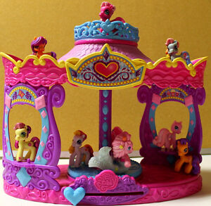 My Little Pony Musical Carousel & ponies