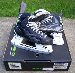 Patin de hockey Reebok Silver Pump