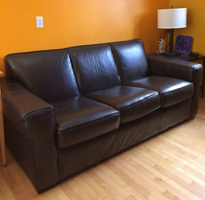 Leather Couch - Good Condition