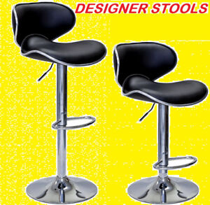 BRAND NEW VERY STYLISH CURVED DESIGNER BAR STOOL ONLY $69.99