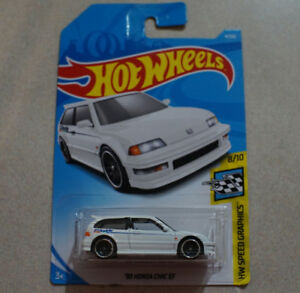 Hot Wheels 90 Honda Civic EF 1/64 scale diecast car JDM