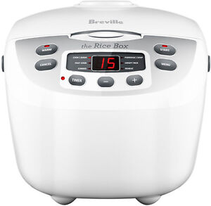 NEW Breville - BRC460 - The Rice Box       Cooker from Bing Lee