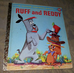 1959 RUFF AND REDDY LITTLE GOLDEN BOOK