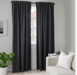 IKEA black out curtains- 2 sets