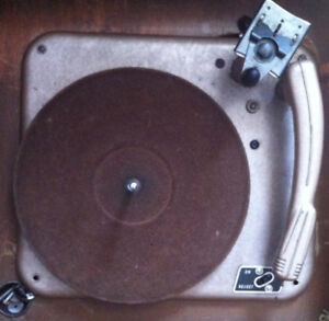 Old turntable for parts.