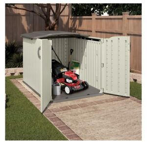 Suncast Storage Shed with Glide Top Brand New IN BOX