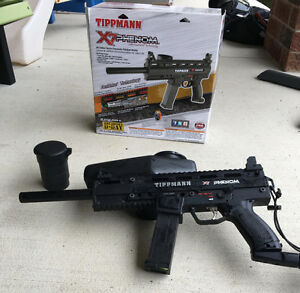 Full Paintball Gear and Tippmann X7 Phenom Marker