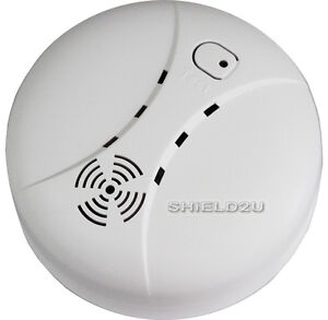 new wireless photoelectric smoke detector alarm uk sller ebay. Black Bedroom Furniture Sets. Home Design Ideas