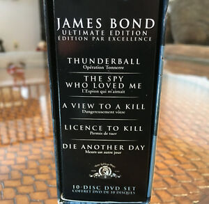 James Bond DVD Ultimate Edition Box Sets Peterborough Peterborough Area image 3