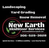 New Earth SkidSteer Services