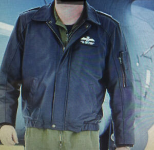 Royal Canadian Air Force Leather Flight Jacket