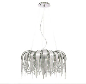 High End 5 light Avenue Chandelier by Eurfase For Sale