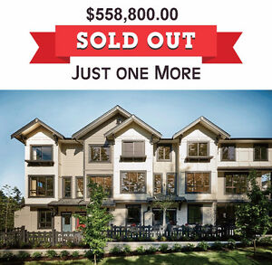 WILLOUGHBY HEIGHTS LANGLEY TOWNHOUSE BRAND NEW $538,800
