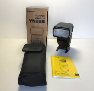 Yongnou YN685 Speedlite for Nikon - LNIB