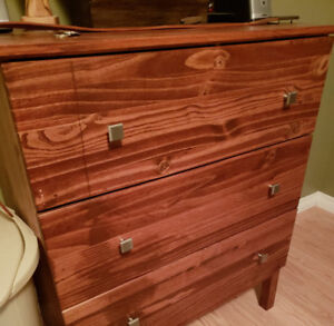 IKEA Dresser - 3 drawers - Stained and varnished