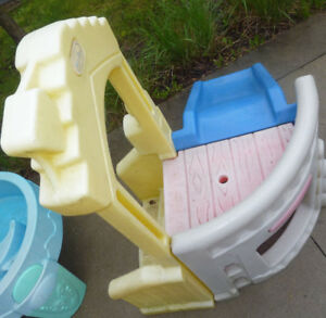 Little Tikes climber with slide