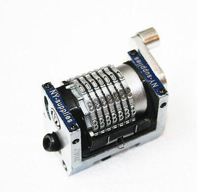 New 3.85mm Rotary Straight Backward Numbering Machine For Heidelberg Gto 7 Digit