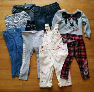 Brand name clothes for your little girl