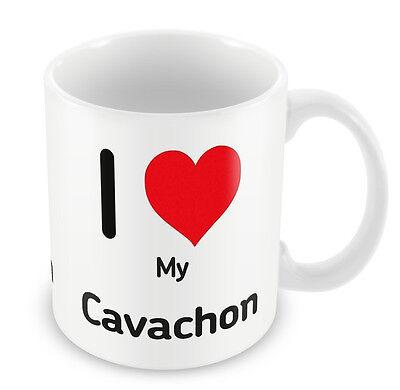 I love My Cavachon Mug Heart Dogs 052 puppy dog lover gift idea party present](Puppy Party Ideas)