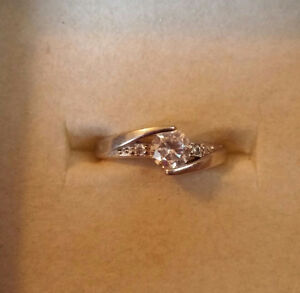 Engagement or promise ring