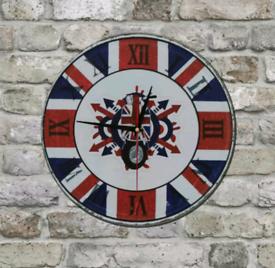 MOD, scooter style wall clock, wall art