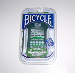 Bicycle Touch Pad Electronic Handheld Blackjack Game