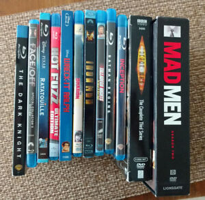 Blu-ray and DVD movies / TV shows for sale