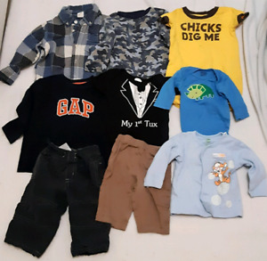 Large baby boy clothing lot 60+ items