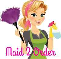 """MAID 2 ORDER - """"MAKING HOME LIFE MORE MANAGEABLE"""""""