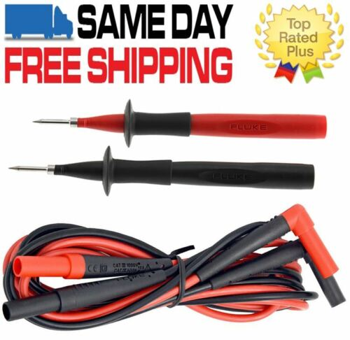 Fluke TP220 Premium Test Probe + TL224 SureGrip Silicone Test leads  USA Seller