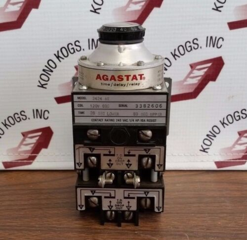 Agastat 2424 AE Time Delay Relay - 0.2 to 200 Seconds