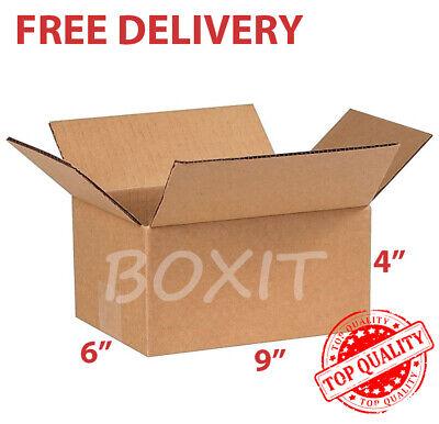 25 9x6x4 Cardboard Paper Shipping Box Mailing Packing Box Corrugated Carton