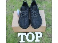 Adidas yeezy 350 boost Private Black best quality come with Original box