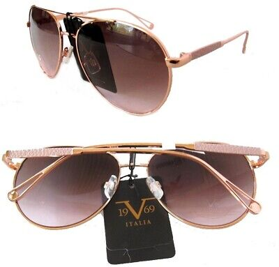 New Versace 19V69 Pippa Sunglasses Rose Gold/Rose