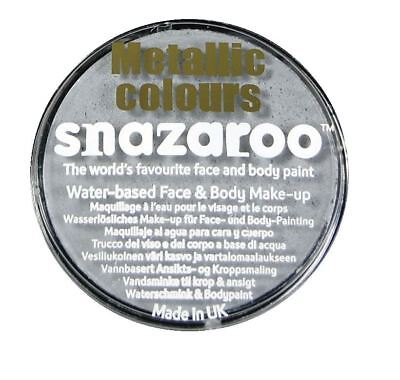 Silver Snazaroo High Quality Non-Toxic Party Face Paint for Festivals & Fairs](Face Paintings For Halloween Costumes)