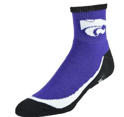 NCAA Men's Youth Grip Turf Socks - Kansas State Wildcats ()