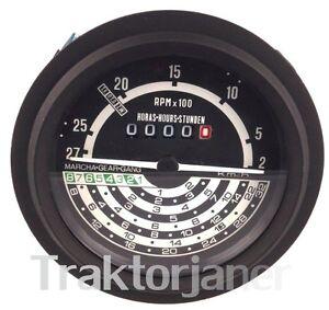 JD- 1535 John Deere 1120, 1130, 1630 Traktormeter, DE14410 Traktor Stundenzähler